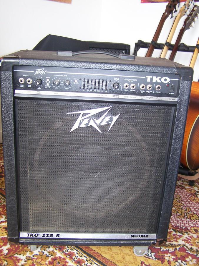 peavey combo 115 bass amp manual