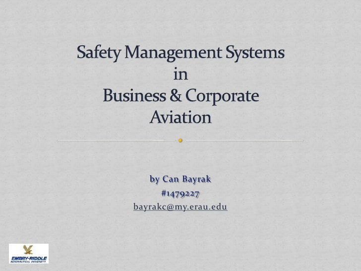 safety management system manual aviation