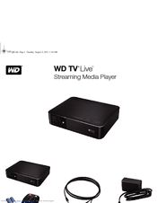 wd streaming media player manual