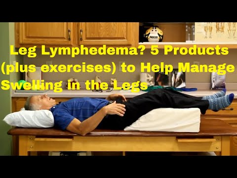 self manual lymph drainage arm