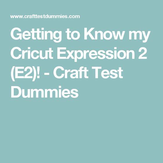 cricut expression user manual pdf