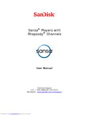 sandisk clip mp3 player manual
