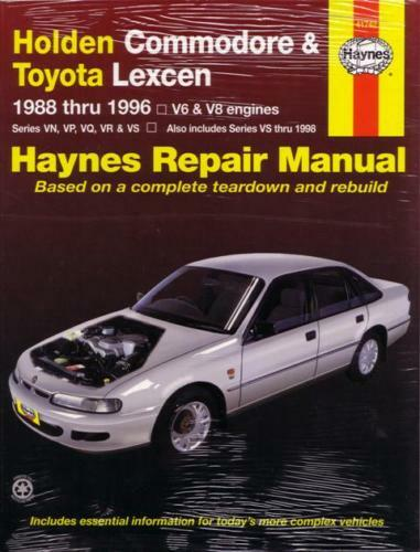 holden commodore workshop manual free download