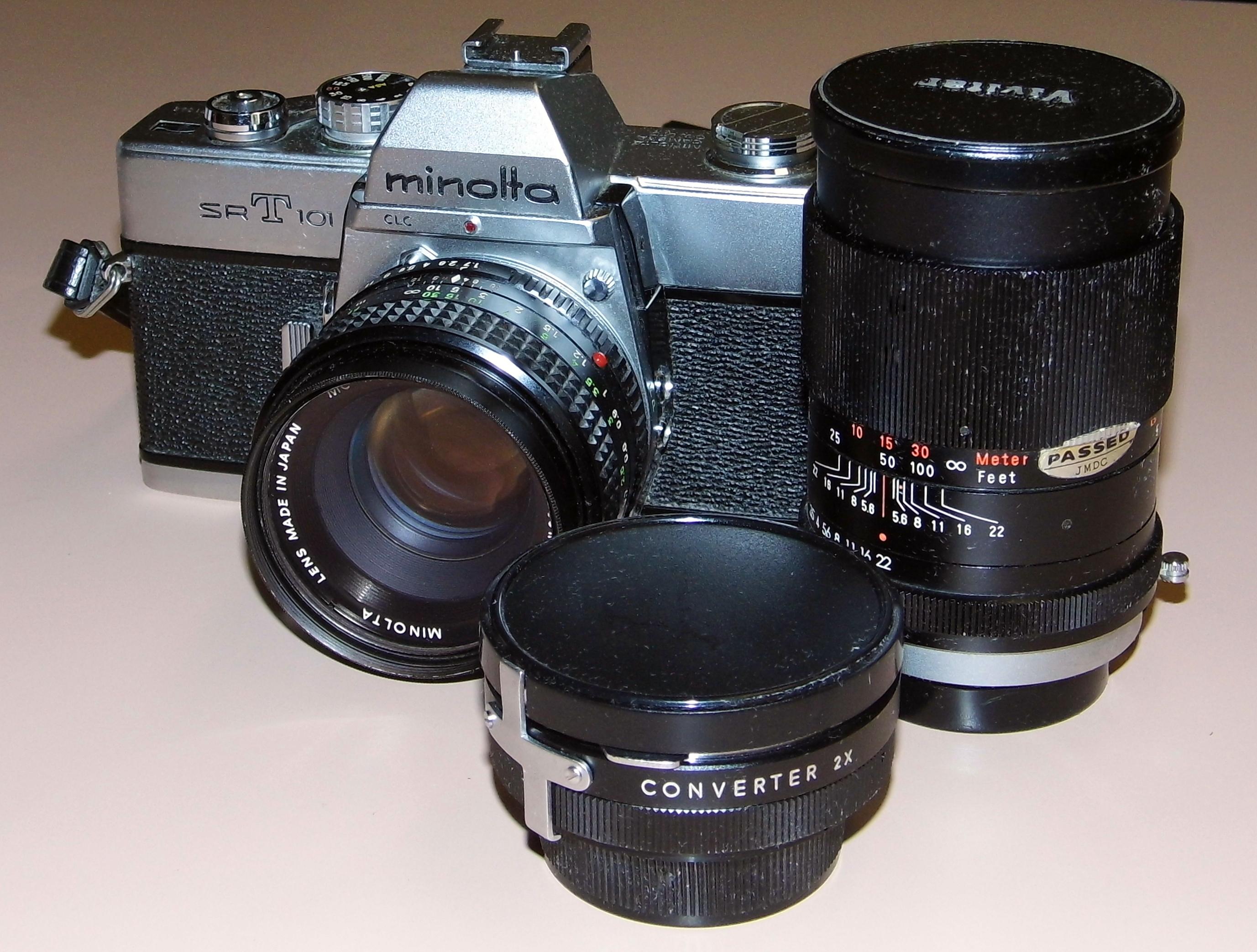 35mm manual slr film camera