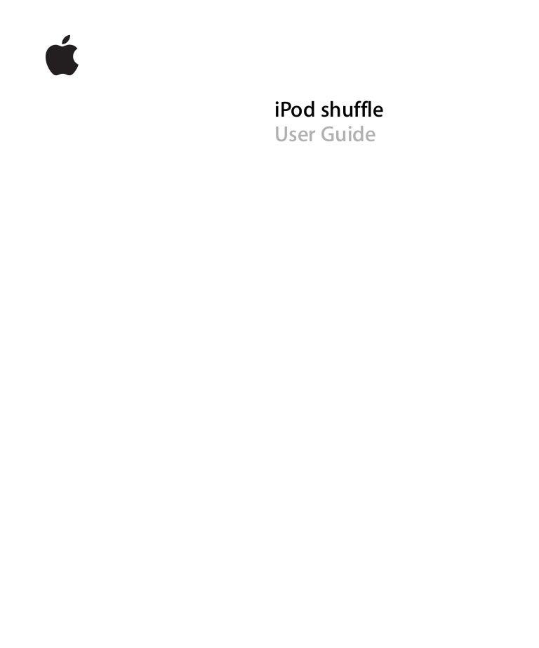 ipod shuffle 3rd generation manual