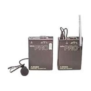 azden wm pro wireless transmitter manual