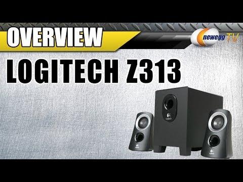 logitech z313 speaker system user manual