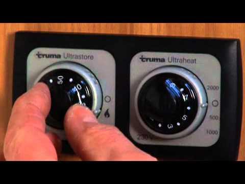 truma ultrastore water heater manual
