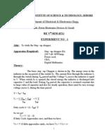 half wave rectifier experiment lab manual