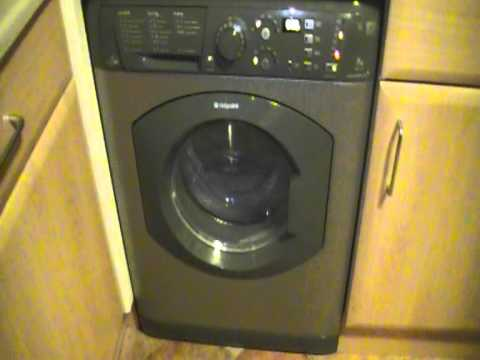 hotpoint aquarius washer dryer manual