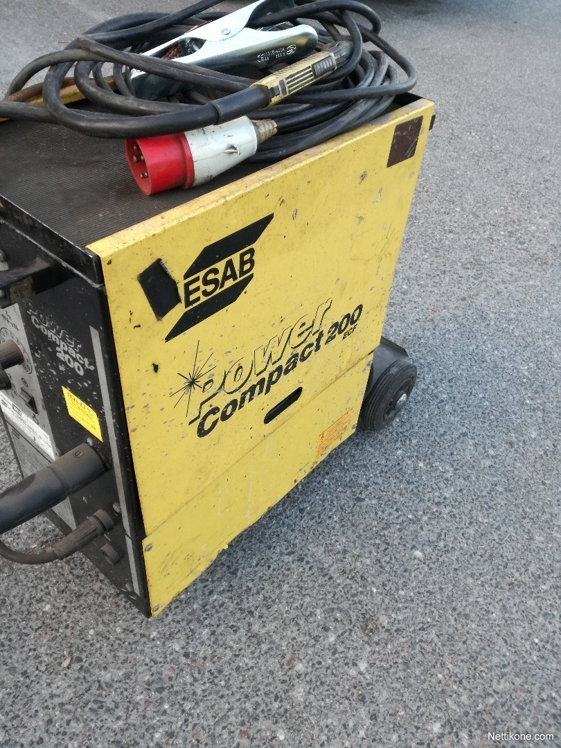 esab power compact 200 manual
