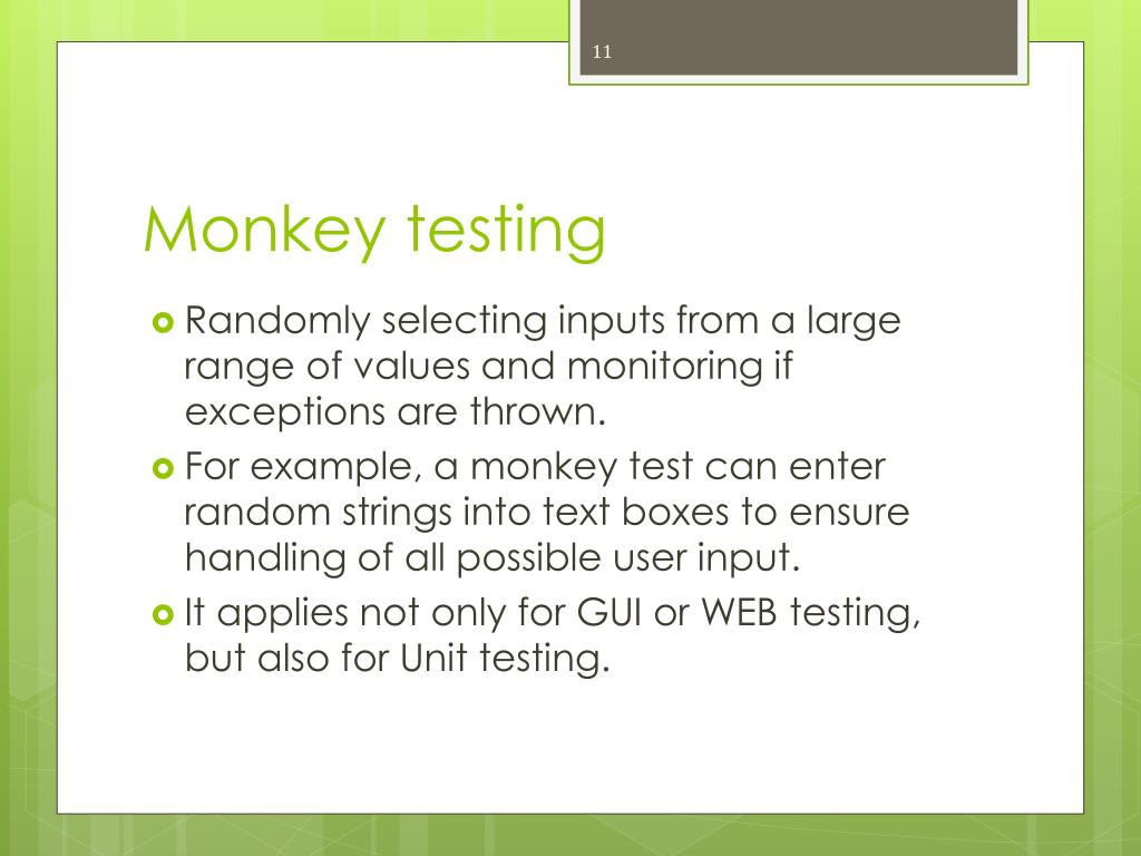 manual test cases for android application
