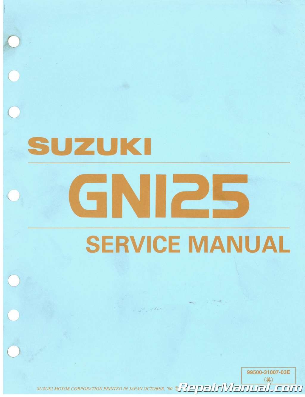 suzuki gp 125 service manual