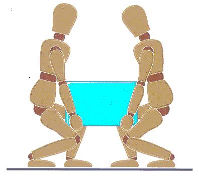 perform manual handling and lifting