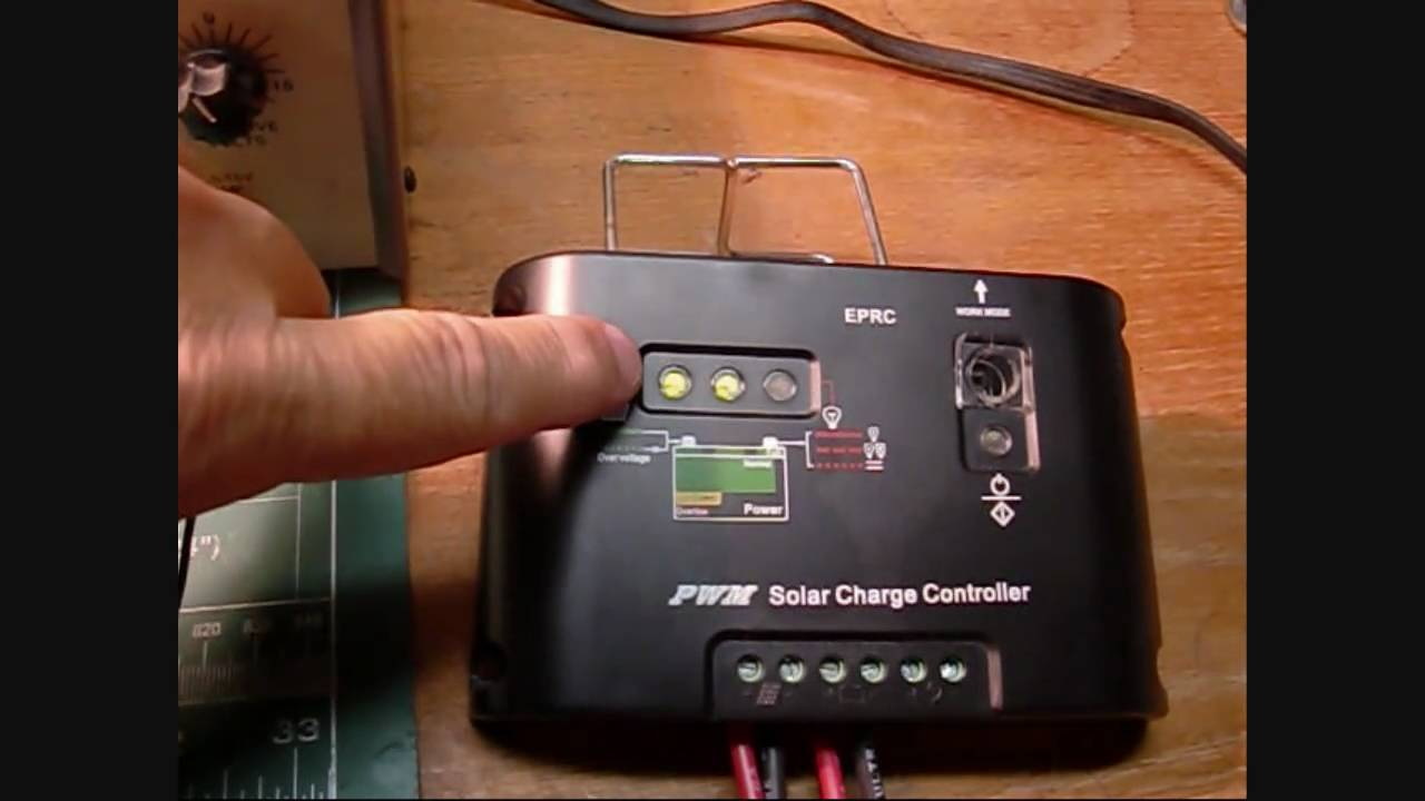 eprc pwm solar charge controller manual
