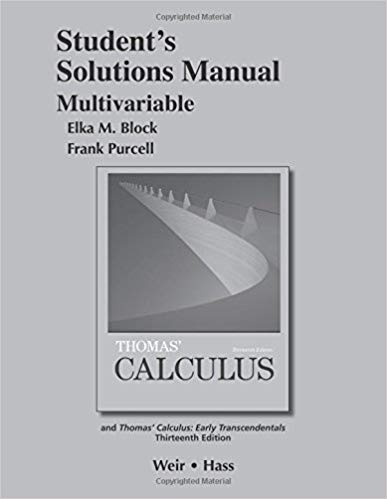thomas calculus 12th edition solution manual pdf free download