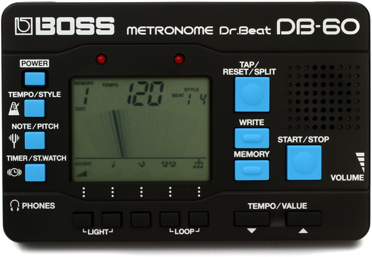 boss metronome db 60 manual