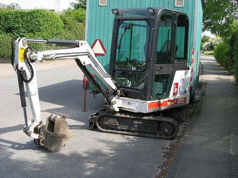bobcat 325 mini excavator manual