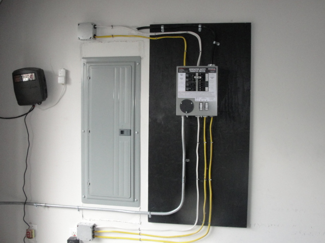 manual transfer switch for portable generator