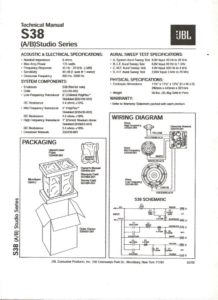 jbl eon 615 manual pdf