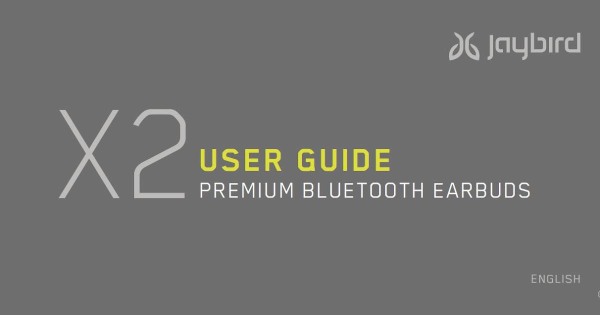jaybird bluebuds x manual pdf