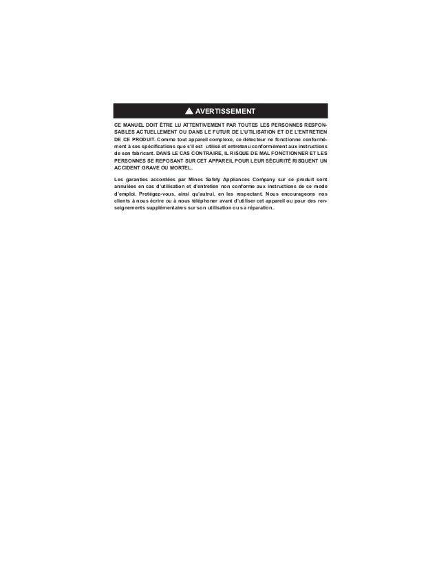 msa altair 4x manual pdf