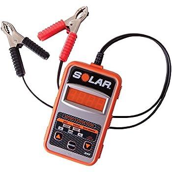 schumacher bt 100 battery load tester manual
