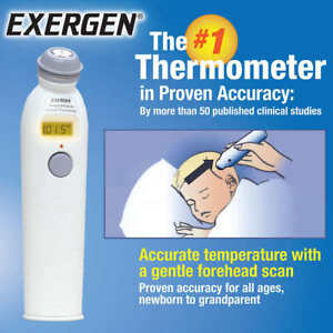 exergen temporal scanner infrared thermometer manual