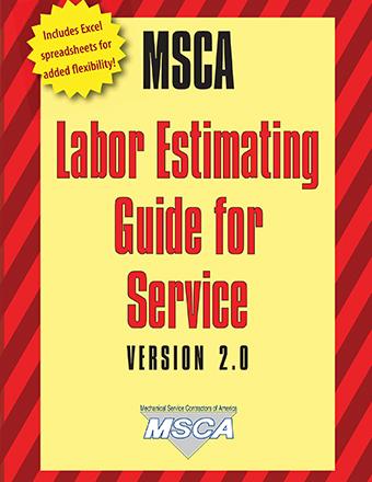 mechanical contractors association labor estimating manual