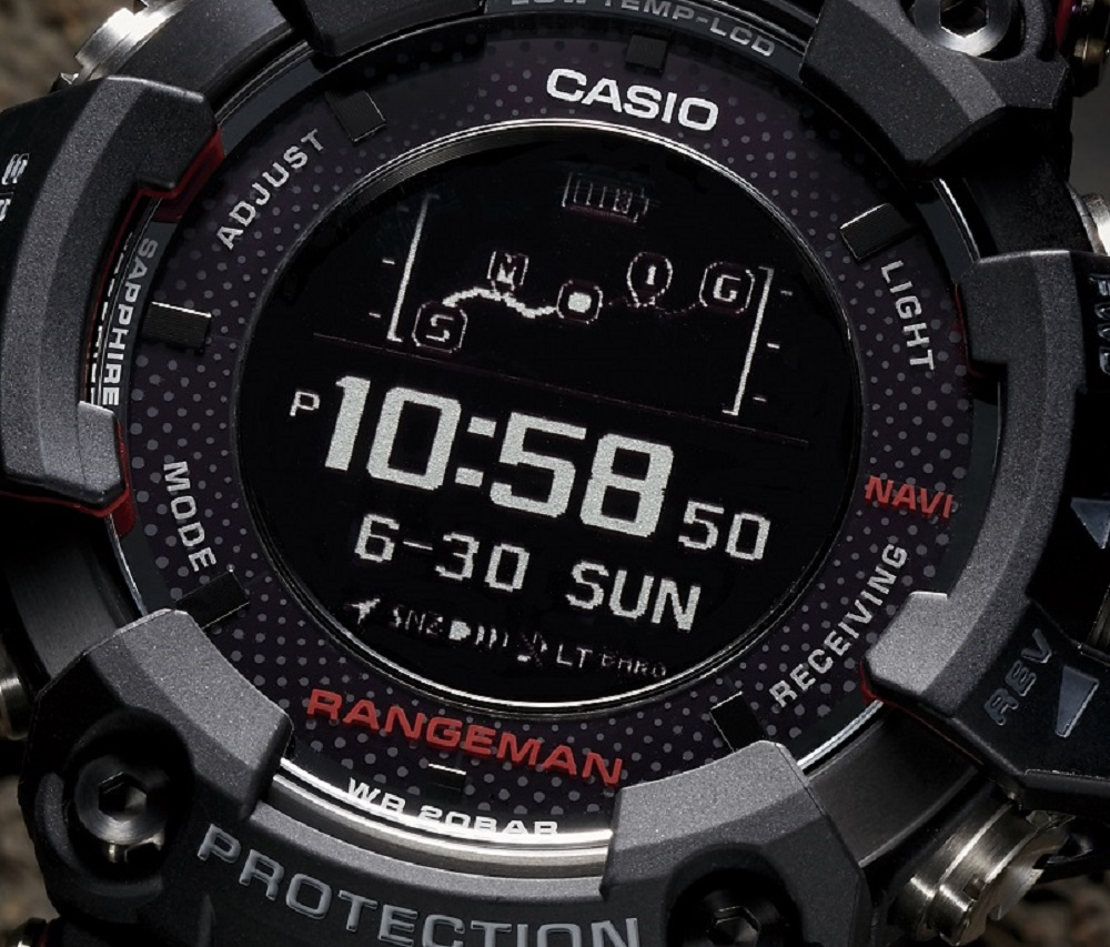 casio g shock rangeman manual