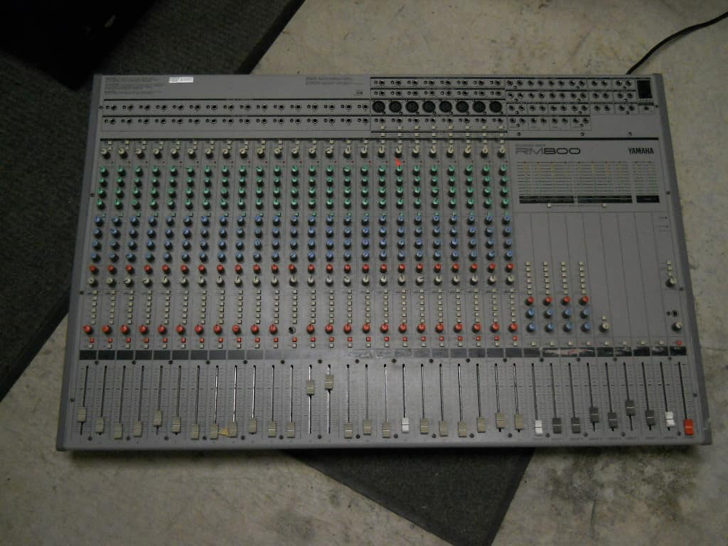 yamaha mixer 16 channel manual
