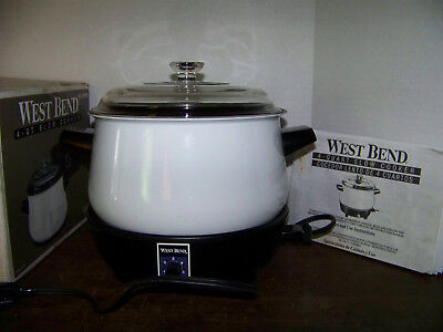 west bend the crockery cooker manual