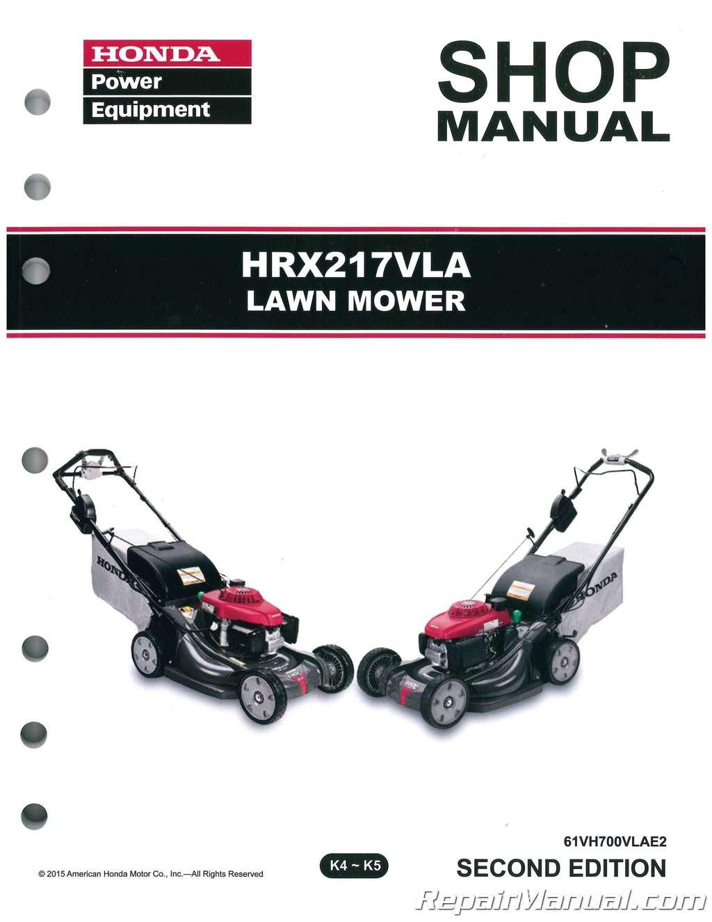 honda push lawn mower manual