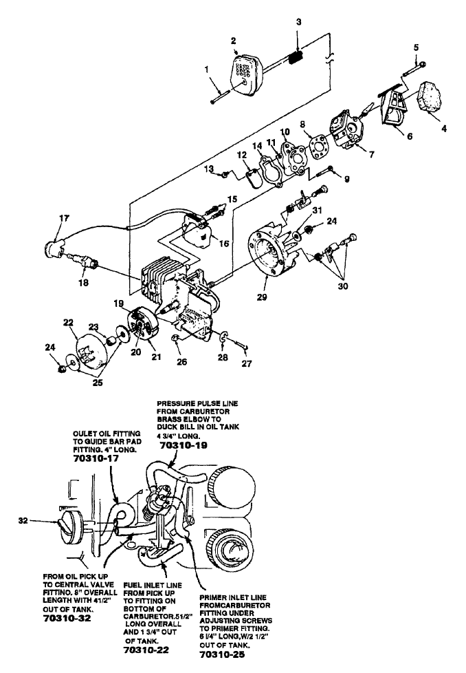 homelite chainsaw repair manual pdf