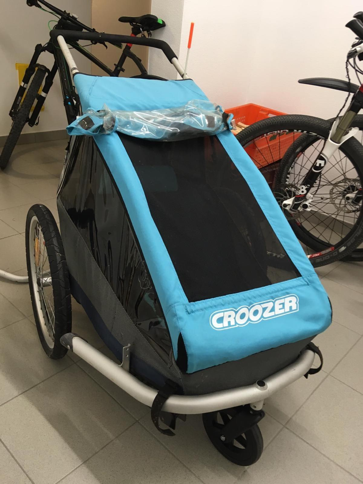 croozer kid for 1 manual