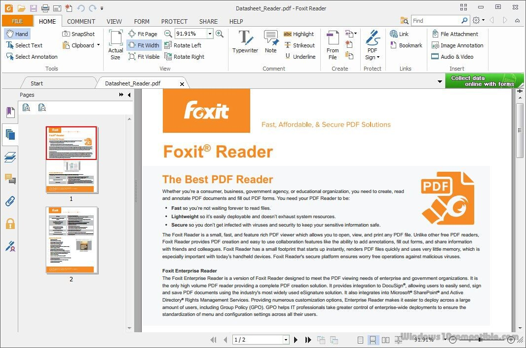 foxit pdf editor user manual