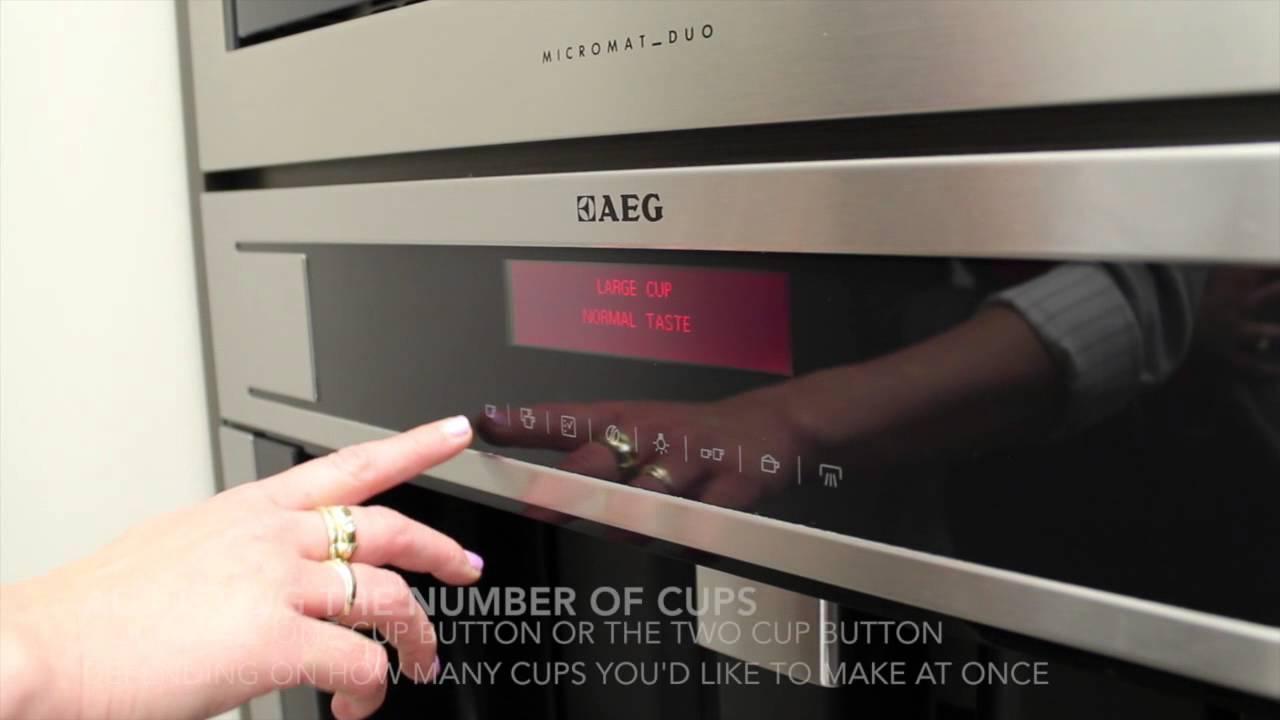 aeg lavazza coffee machine manual