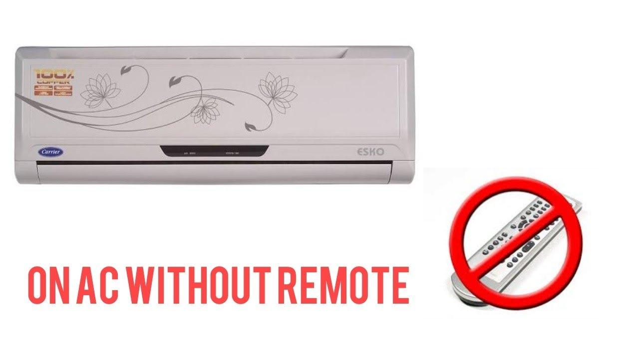 onida ac remote control manual