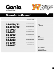 genie gs 1930 operators manual