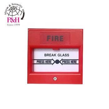 manual call point break glass type