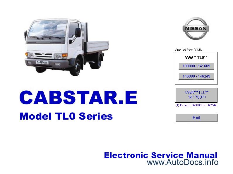 nissan terrano service manual pdf