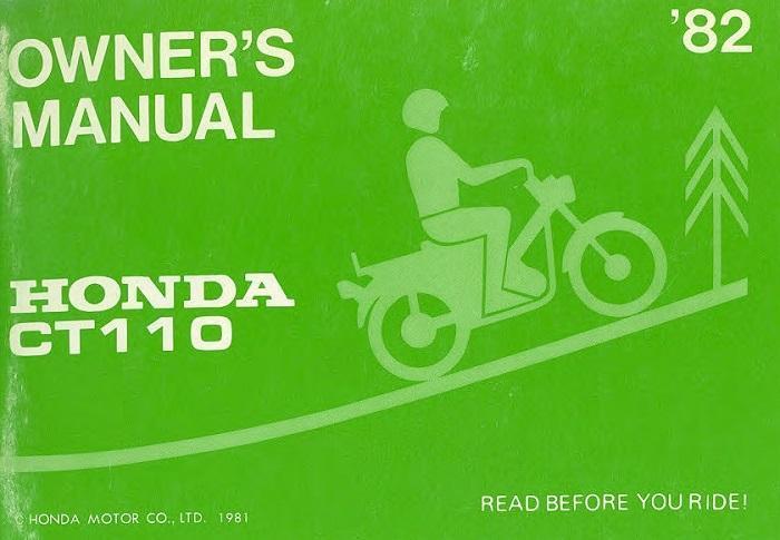 honda ct110 manual download free