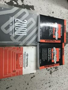 toyota tacoma factory service manual