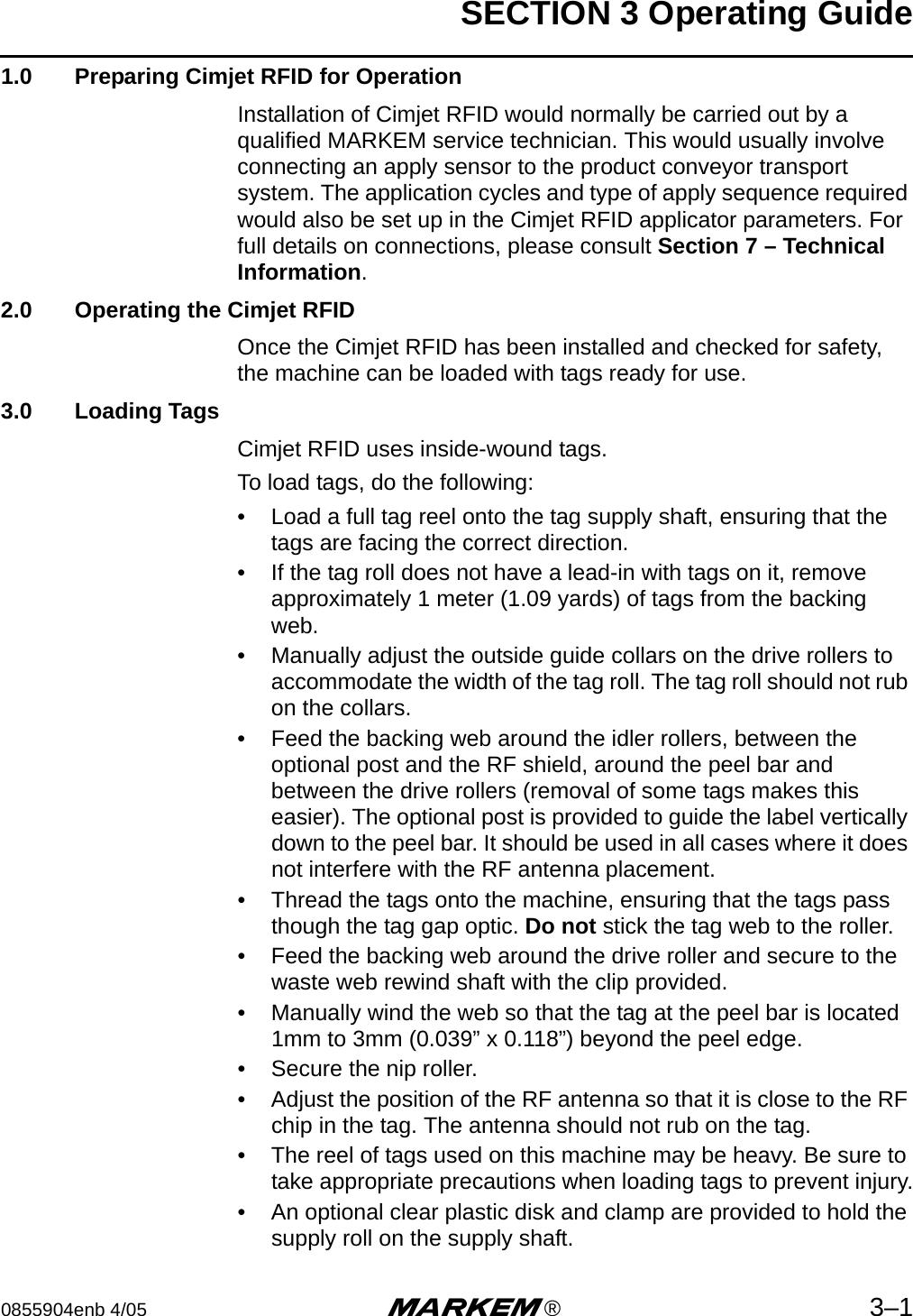 markem smartdate 3 user manual