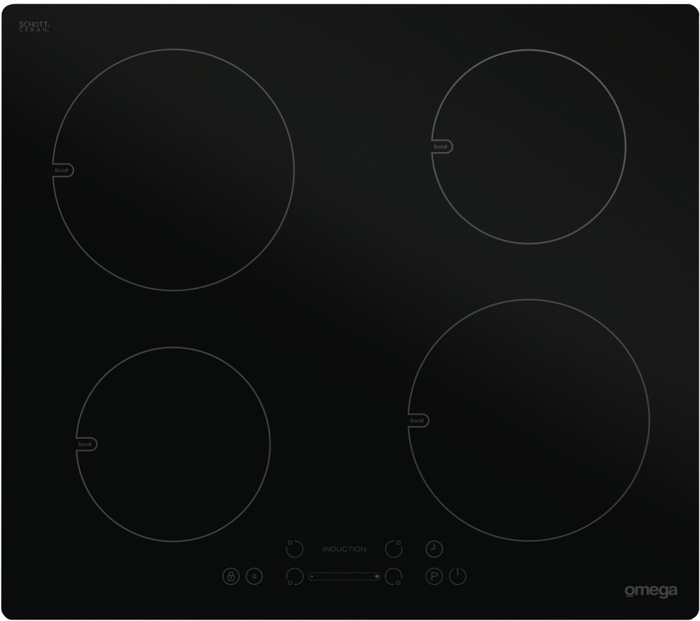 omega induction cooktop oi64bb manual