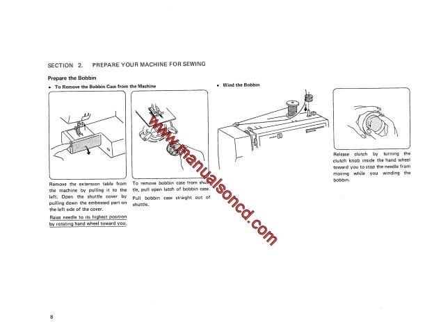 how to thread a manual sewing machine
