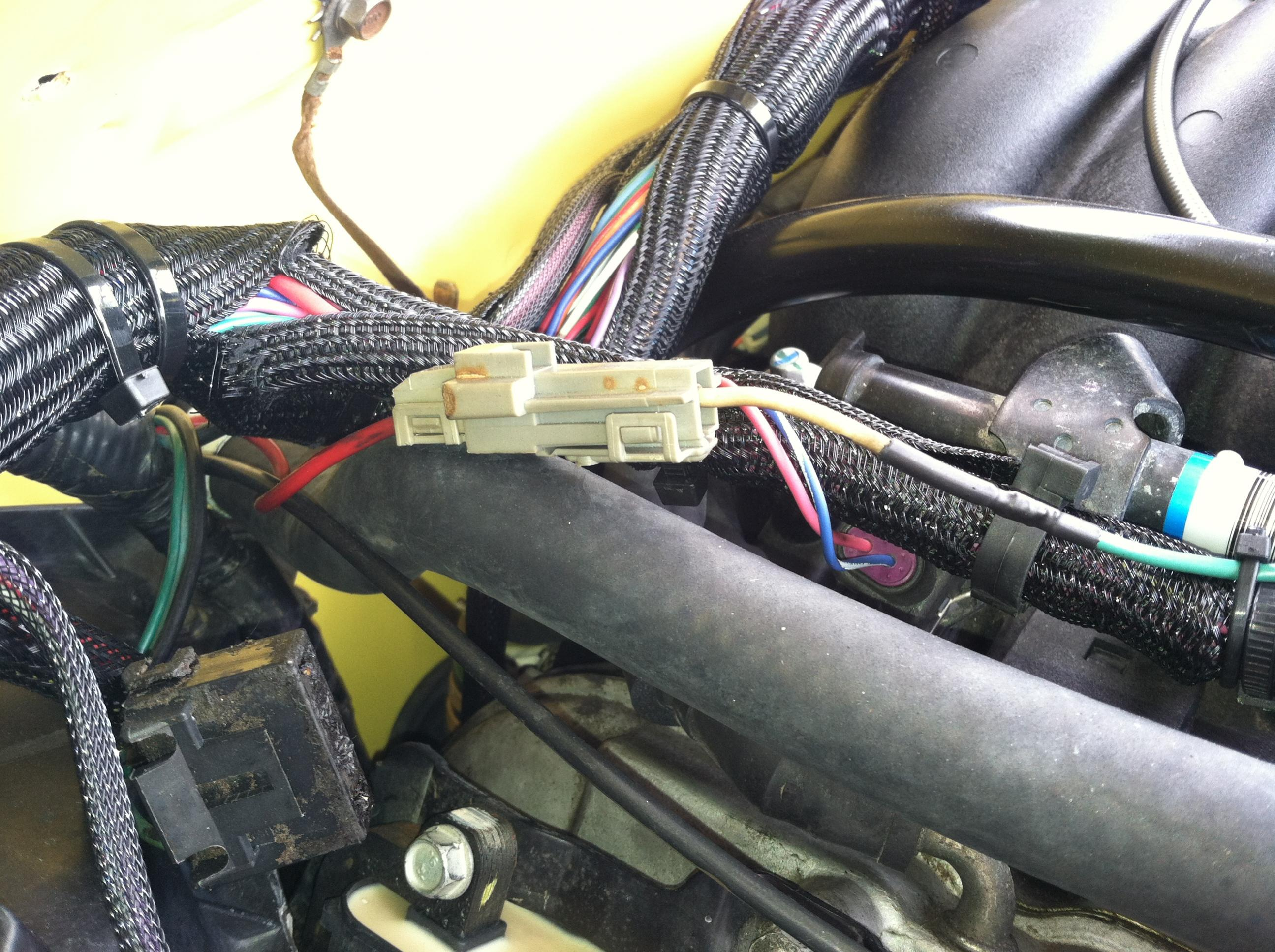 ls1 auto to manual conversion wiring