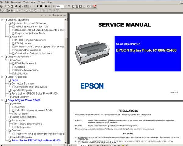 epson pro 3800 service manual