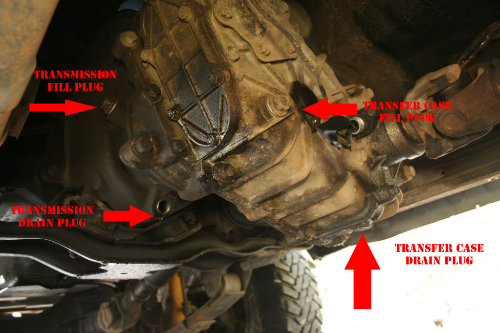 how to change manual transmission oil