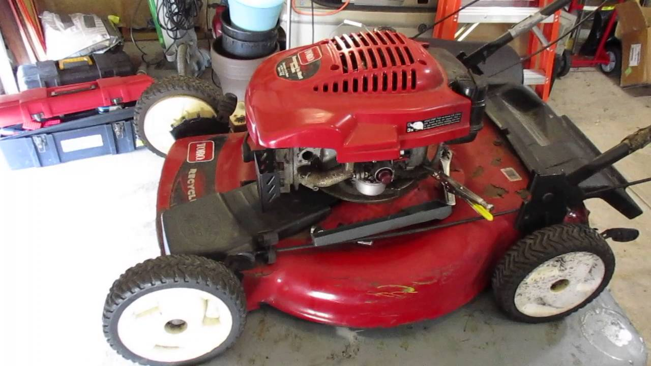 toro 22 inch recycler lawn mower manual